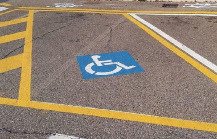 Posto auto disabili personalizzato