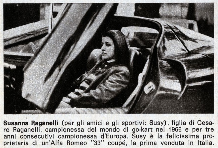 """Susanna """"Susy"""" Raganelli"""