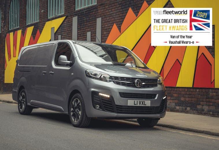 Vauxhall Vivaro-e Van Fleet World