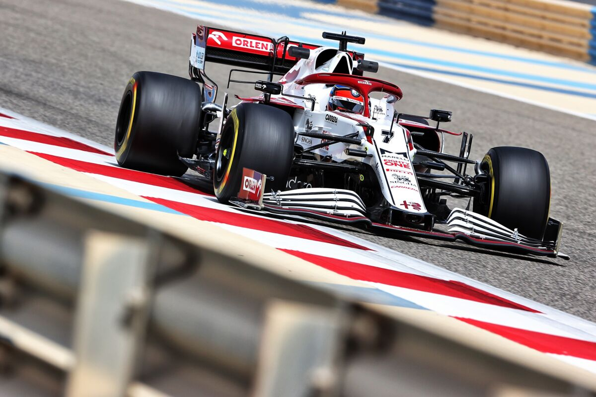 Alfa Romeo Racing RaikkonenTest