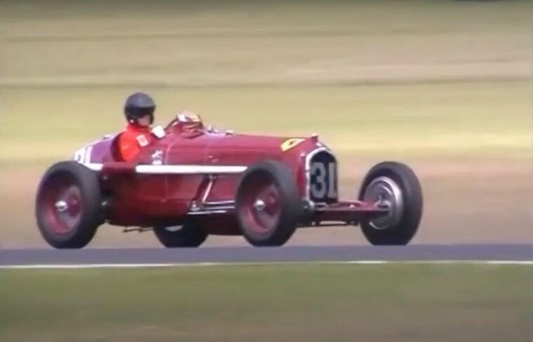 Alfa Romeo P3 in pista