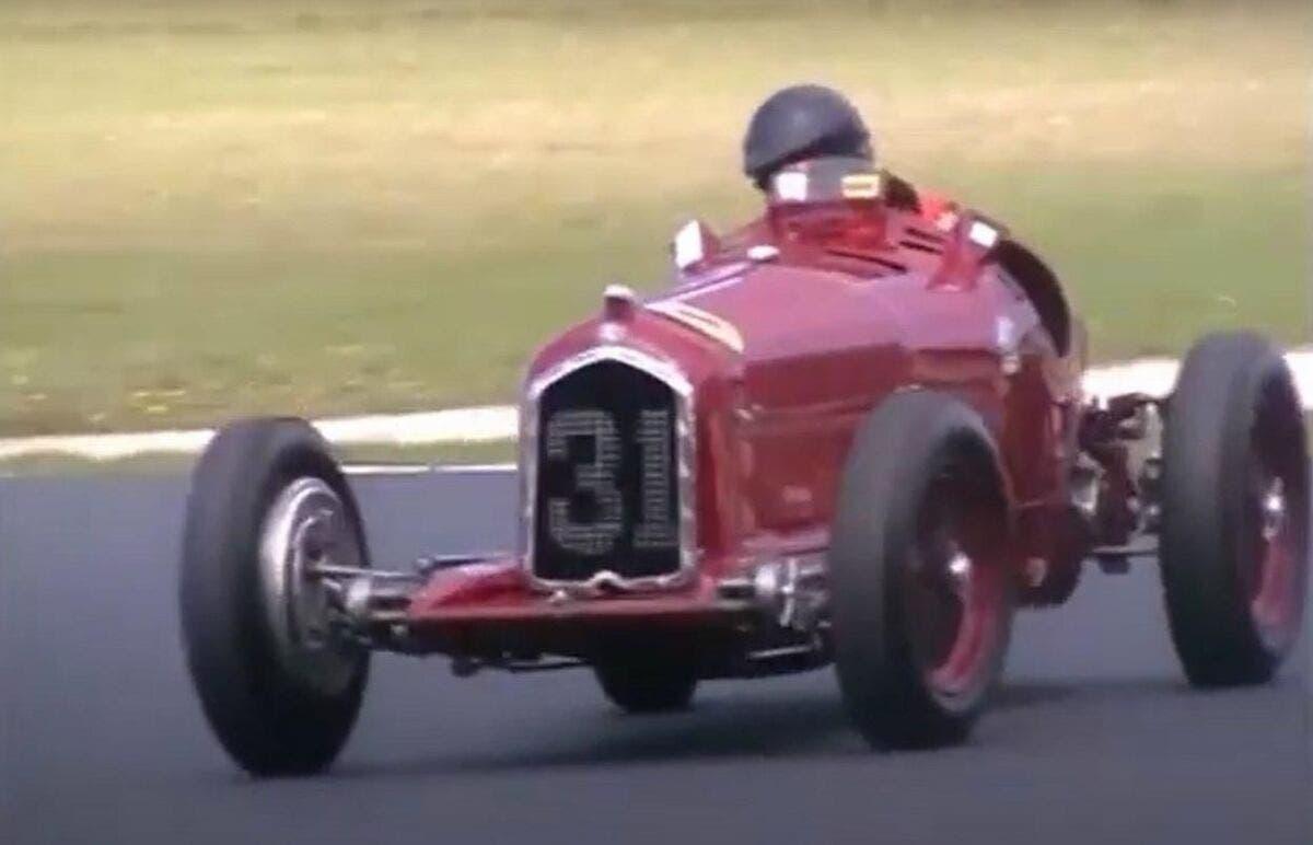 Alfa Romeo P3 in corsa