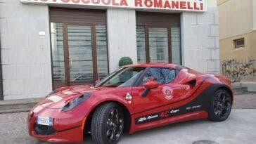 Alfa Romeo 4C scuola guida