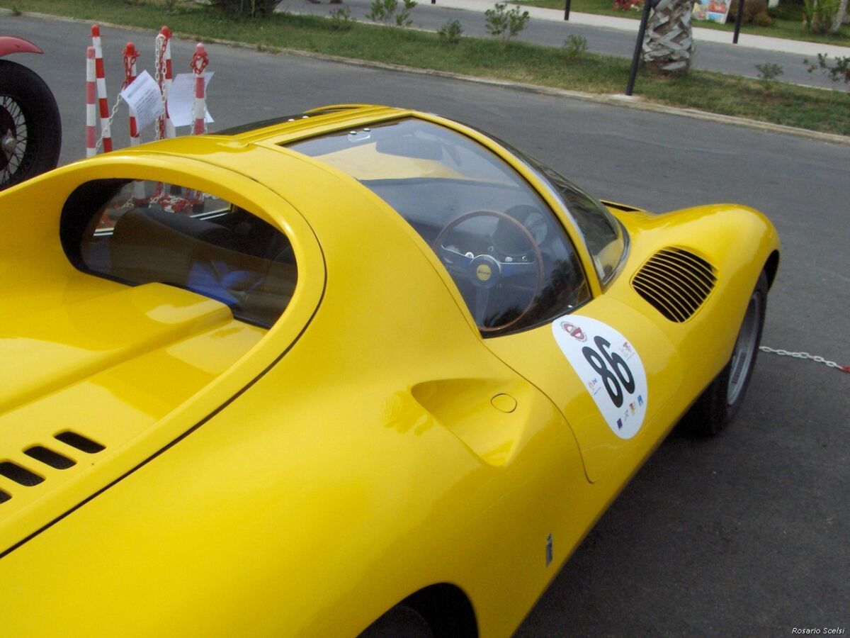 Ferrari Dino Competizione Gialla
