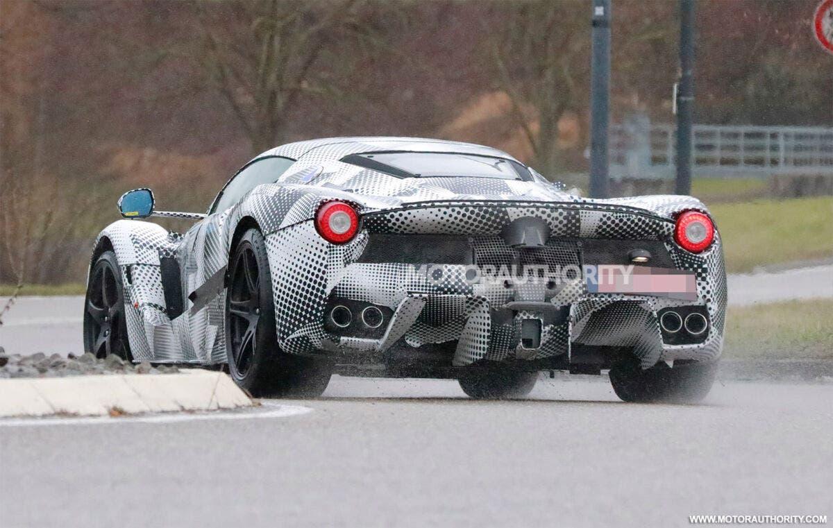 Ferrari Hypercar Spy