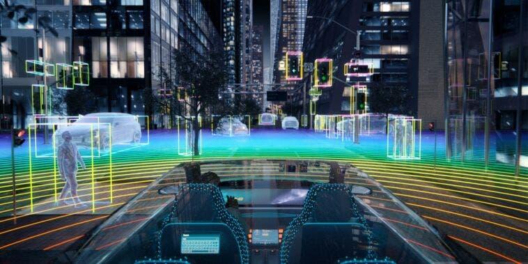 laser a infrarossi per LiDAR per la guida autonoma