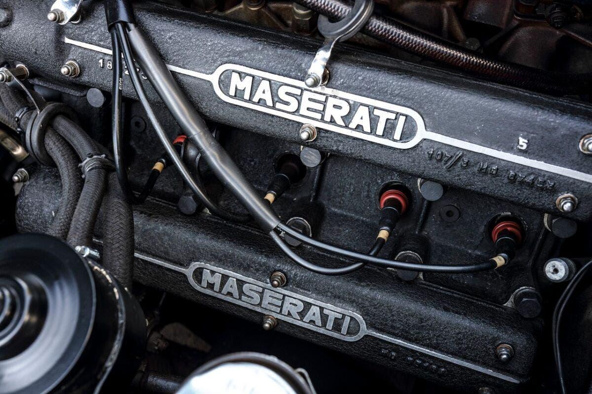 Maserati Indy: il motore