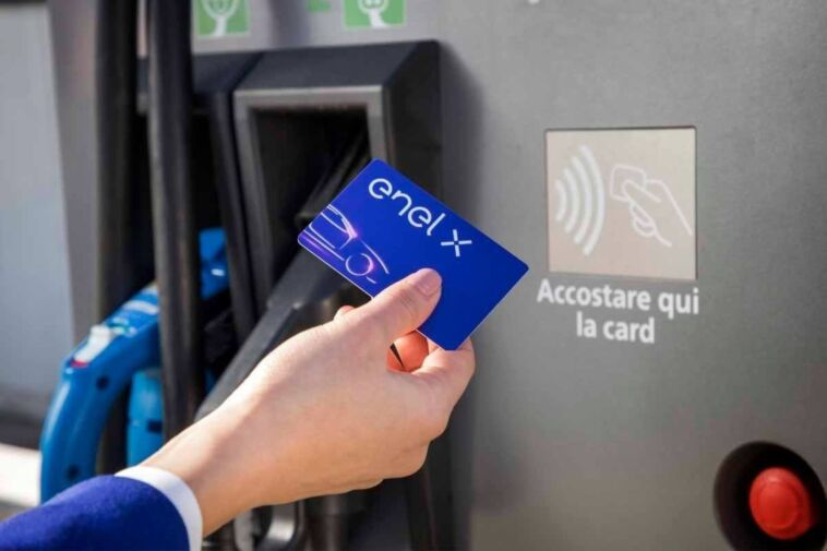 stazioni di ricarica elettrica in Italia