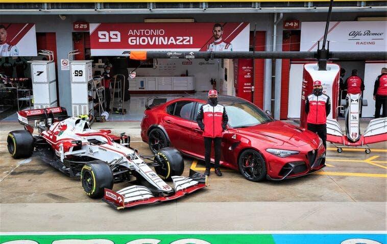 Alfa Romeo Giulia GTAm GP Imola