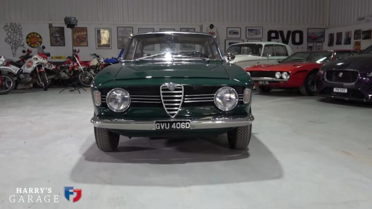 Alfa Romeo Giulia Sprint GT Veloce Harry Metcalfe