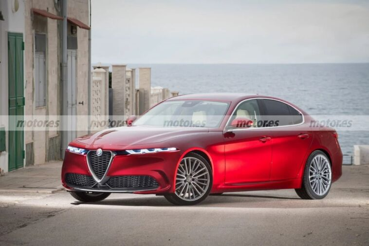 Alfa Romeo Giulia restyling