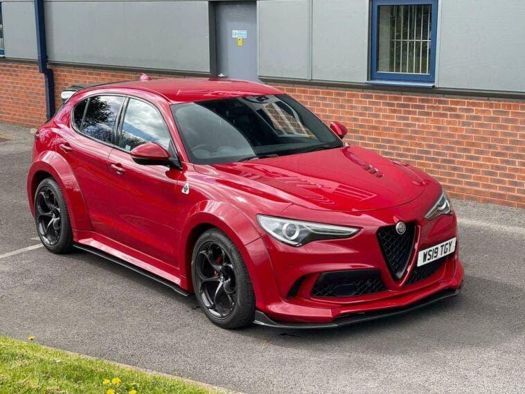 Alfa Romeo Stelvio Quadrifoglio widebody modificato