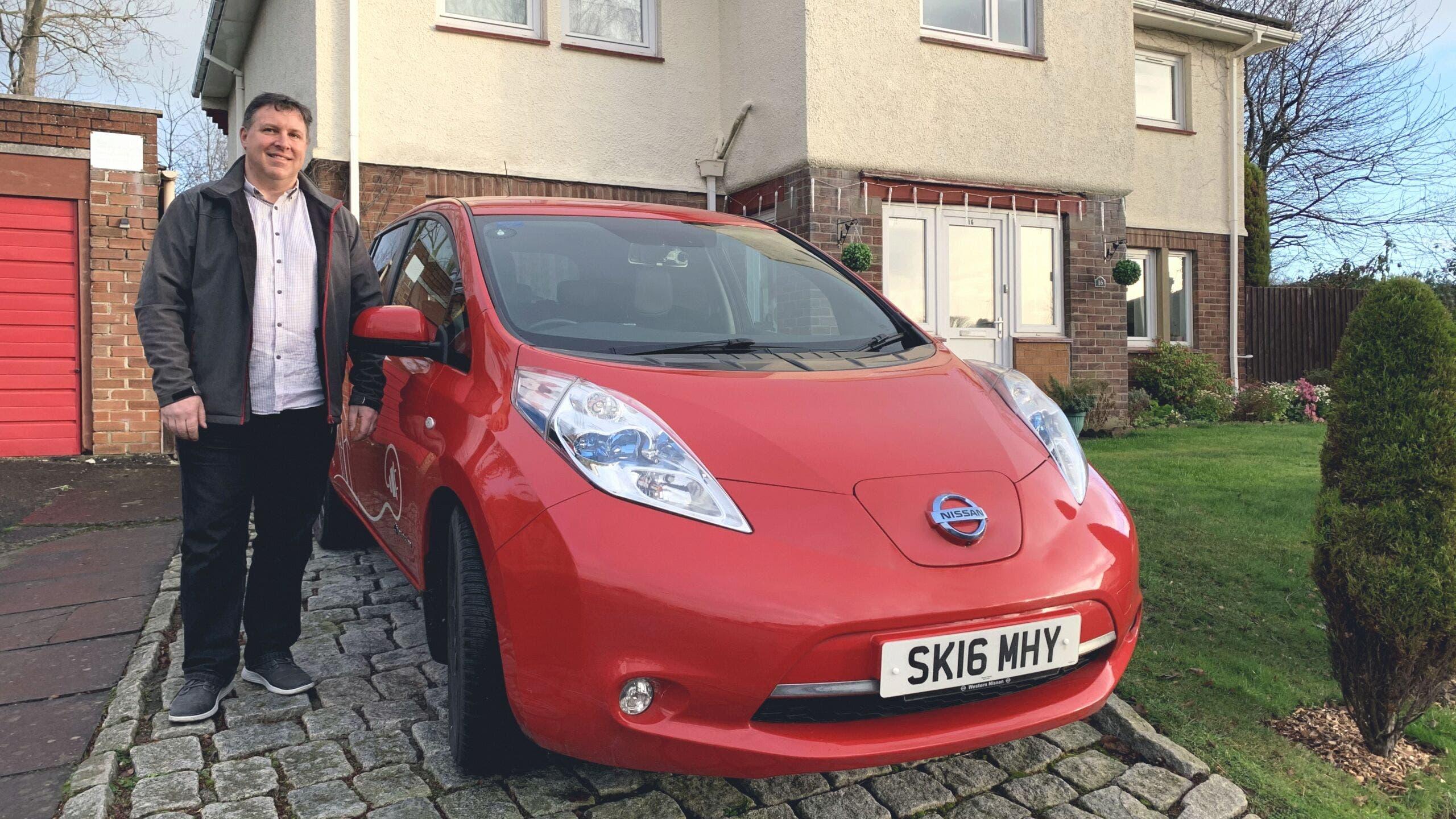 Auto elettriche indagine Nissan Europa