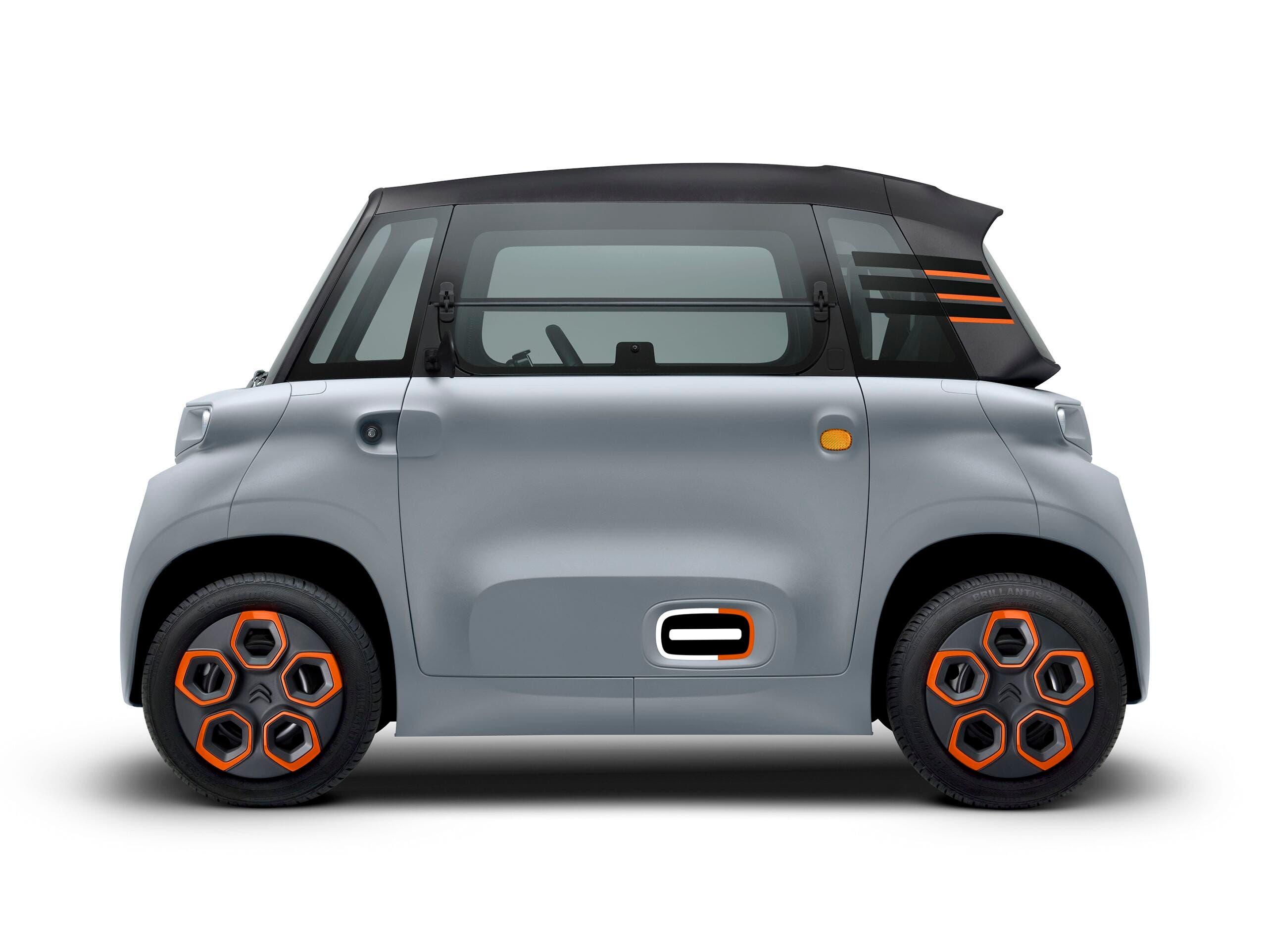 Citroën Ami accessori personalizzazione ricambi