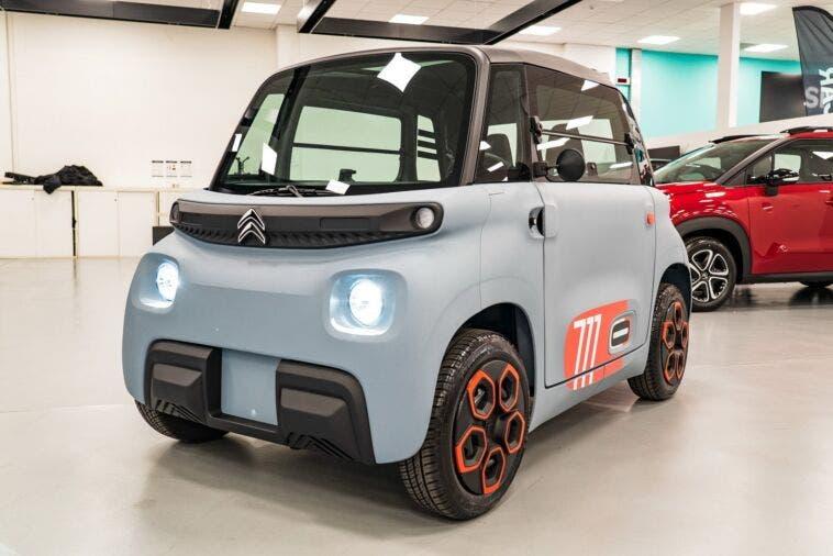 Citroën Ami primo esemplare Italia