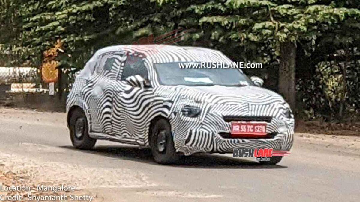 Citroën CC21 ultimo prototipo foto spia