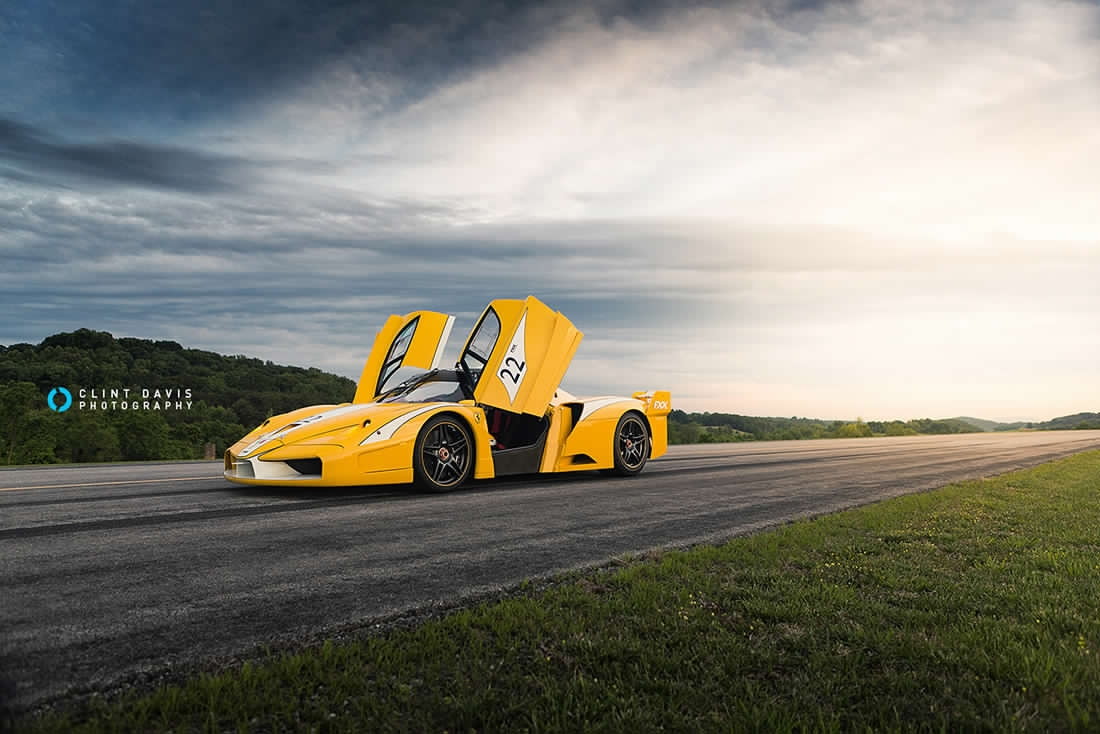 Collezione Ferrari gialle