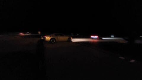 Dodge Challenger SRT Hellcat vs Nissan GT-R