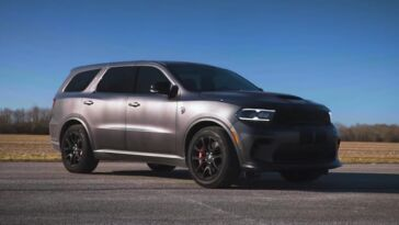 Dodge Durango SRT Hellcat Throttle House