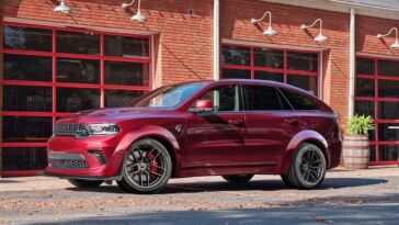 Dodge Durango SRT Hellcat coupé