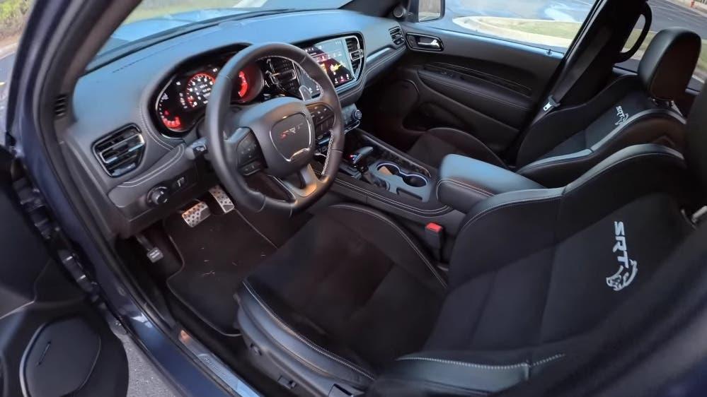Dodge Durango SRT Hellcat test strada