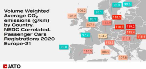 Emissioni delle auto nuove in Europa la media cala del 12% 2