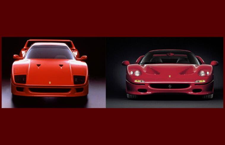Ferrari F40 e F50