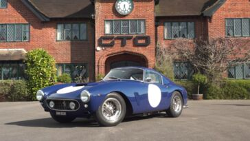 Ferrari 250 GT Berlinetta SWB GTO Engineering