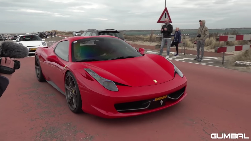 Ferrari 458 Spider scarico S-Line