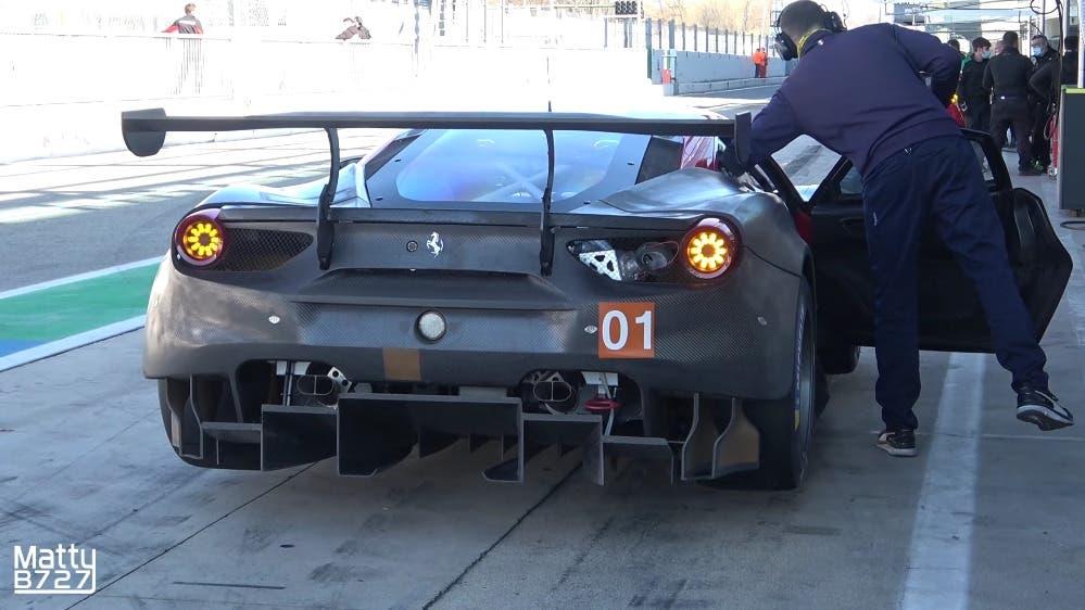 Ferrari 488 GTE circuito Monza