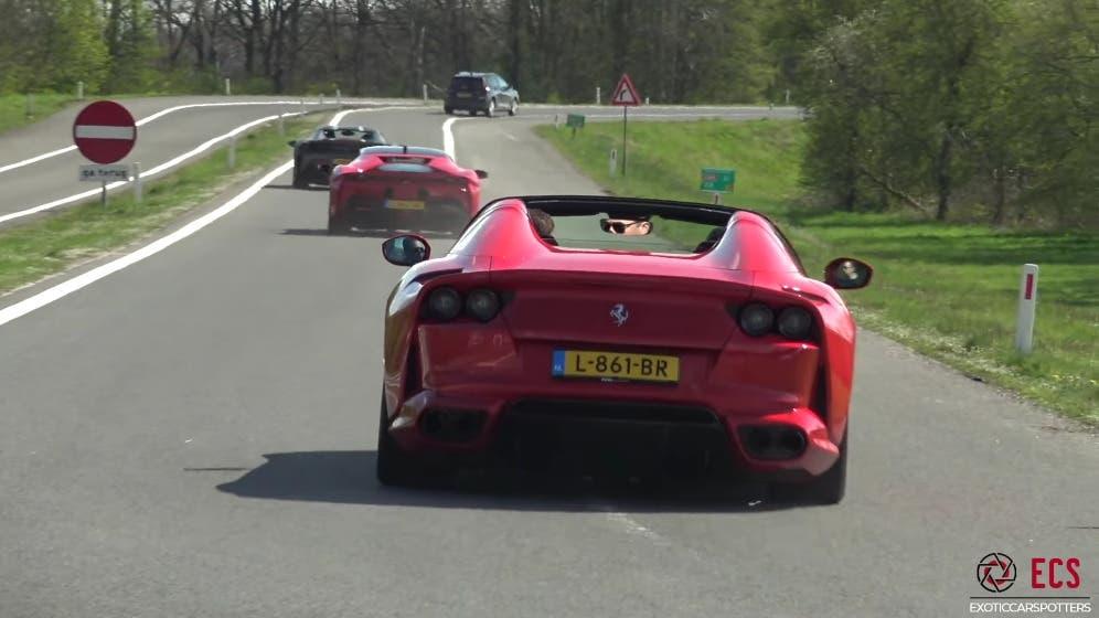 Ferrari 812 GTS live sound