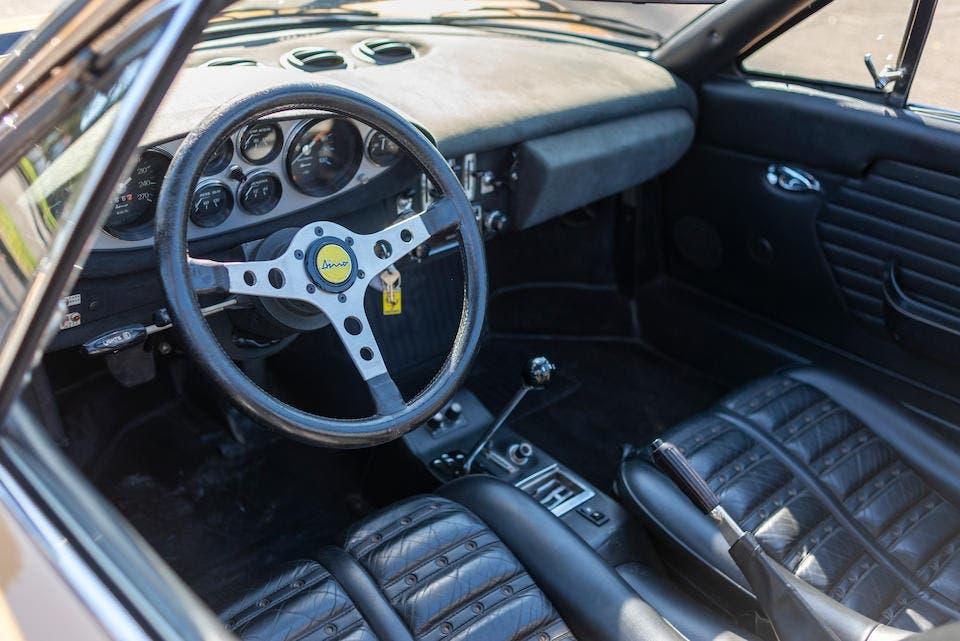 Ferrari Dino 246 GTS Nocciola Metallizzato asta
