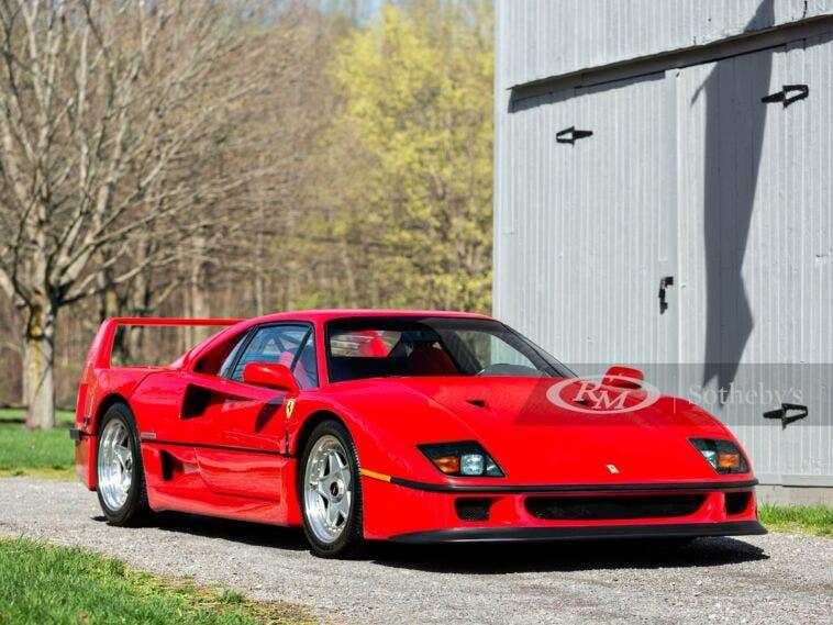 Ferrari F40 1992 asta USA