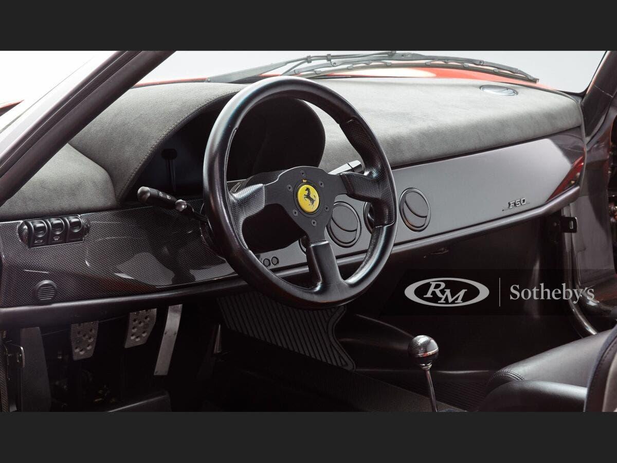 Ferrari F50 1995 asta 3,75 milioni