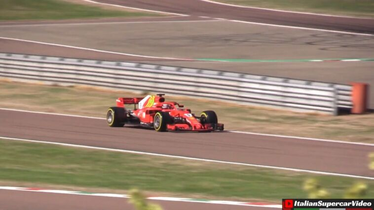 Ferrari SF71H Marcus Armstrong