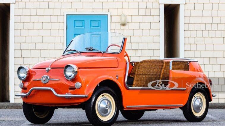 Fiat 500 Jolly 1959 asta RM Sotheby's