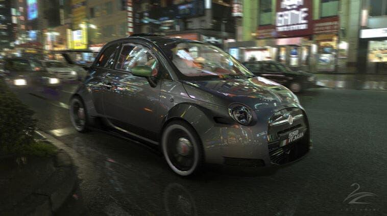 Fiat 500 Lazzarini Design V8