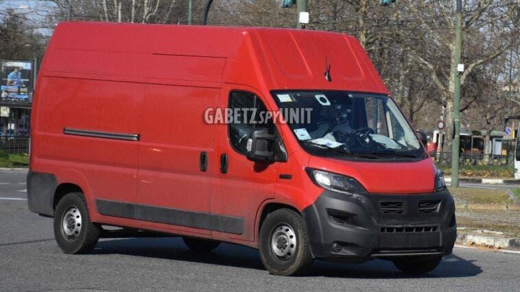 Fiat Ducato 2022 Europa foto spia