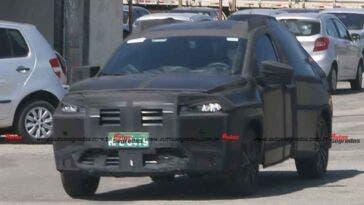 Fiat Progetto 363 nuove foto spia