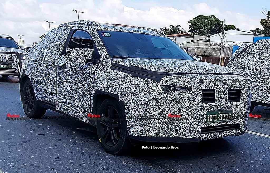 Fiat Progetto 363 nuovo prototipo foto spia