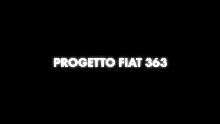 Fiat Progetto 363 teaser