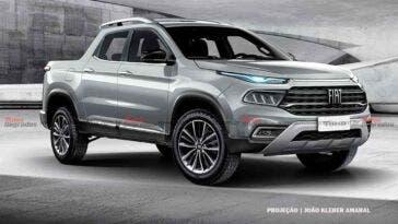 Fiat Toro 2022 render