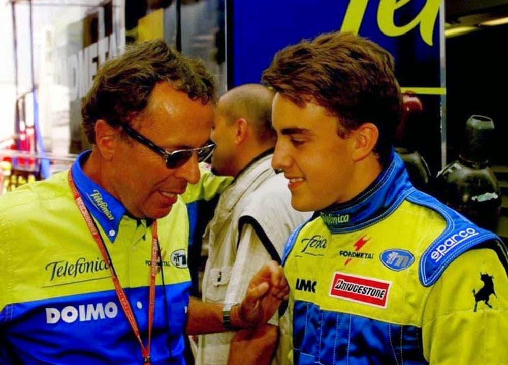 Cesare Fiorio Fernando Alonso