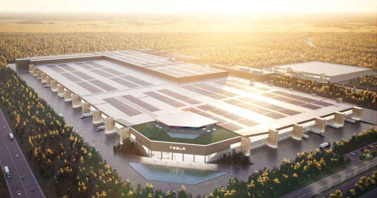 Gigafactory Tesla in Germania