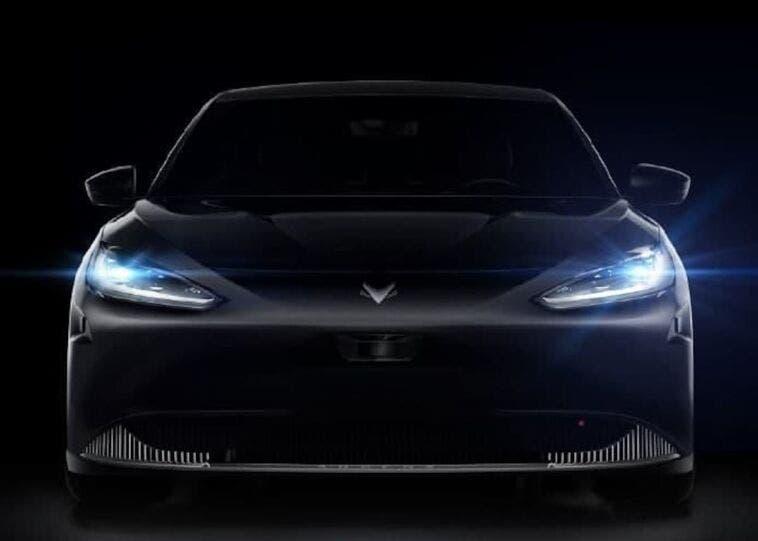 Huawei auto elettrica teaser