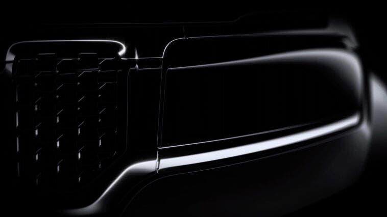 Jeep Commander 2022 teaser Brasile