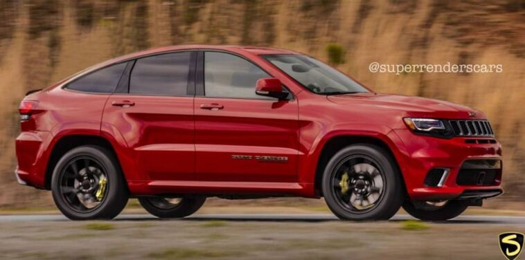 Jeep Grand Cherokee Trackhawk Coupé render