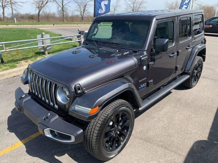 Jeep Wrangler 4xe USA