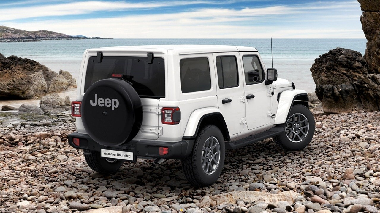 Jeep Wrangler 80th Anniversary Edition Spagna