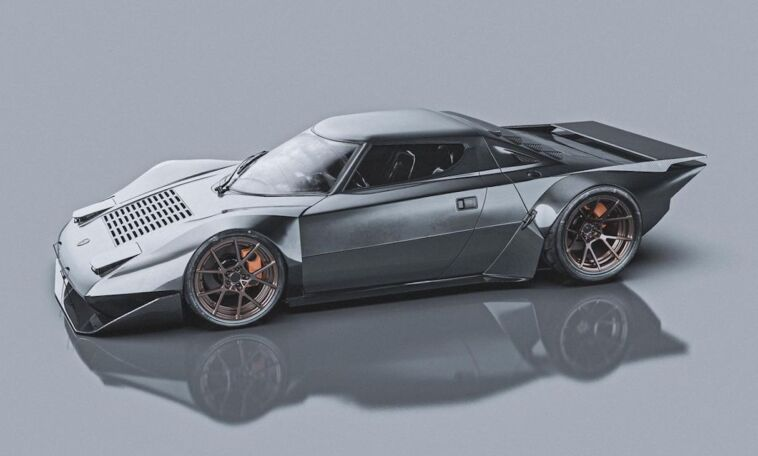 Lancia Stratos concept moderno